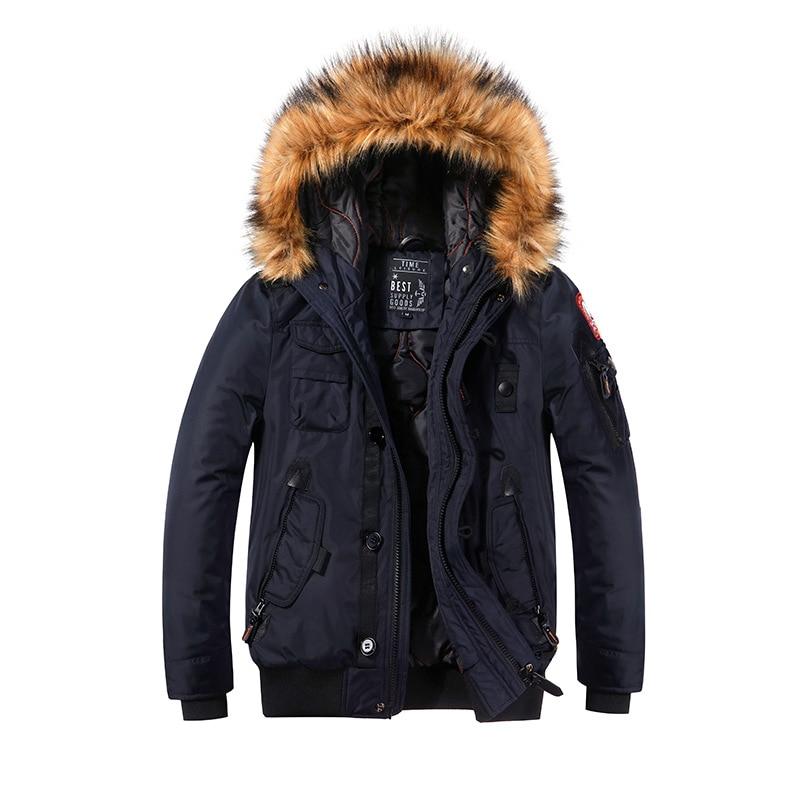 winter new cotton coat men's short men's cotton jacket youth trend cotton jacket thick warm jacket