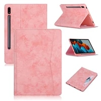 case for samsung tab s7 fe sm t730 12 4 inch tablet 2021 sm t736 s7 plus folding pocket leather soft tpu back cover