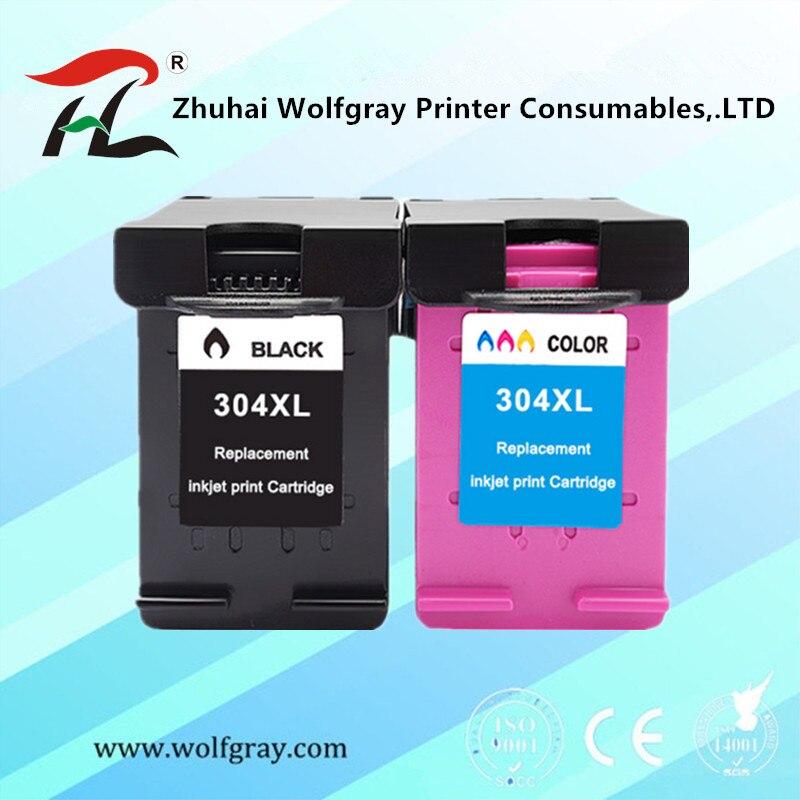 Ink Cartridge 304XL for hp304 for hp 304 xl deskjet envy 2620 2630 2632 5030 5020 5032 3720 3730 5010 printer
