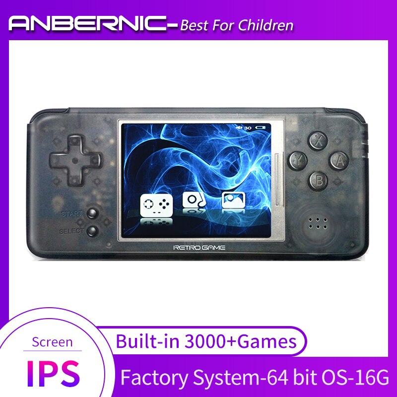 Consola de videojuegos Retro RS97 IPS, Emuladores, Mando de juegos, 3000 juegos,...