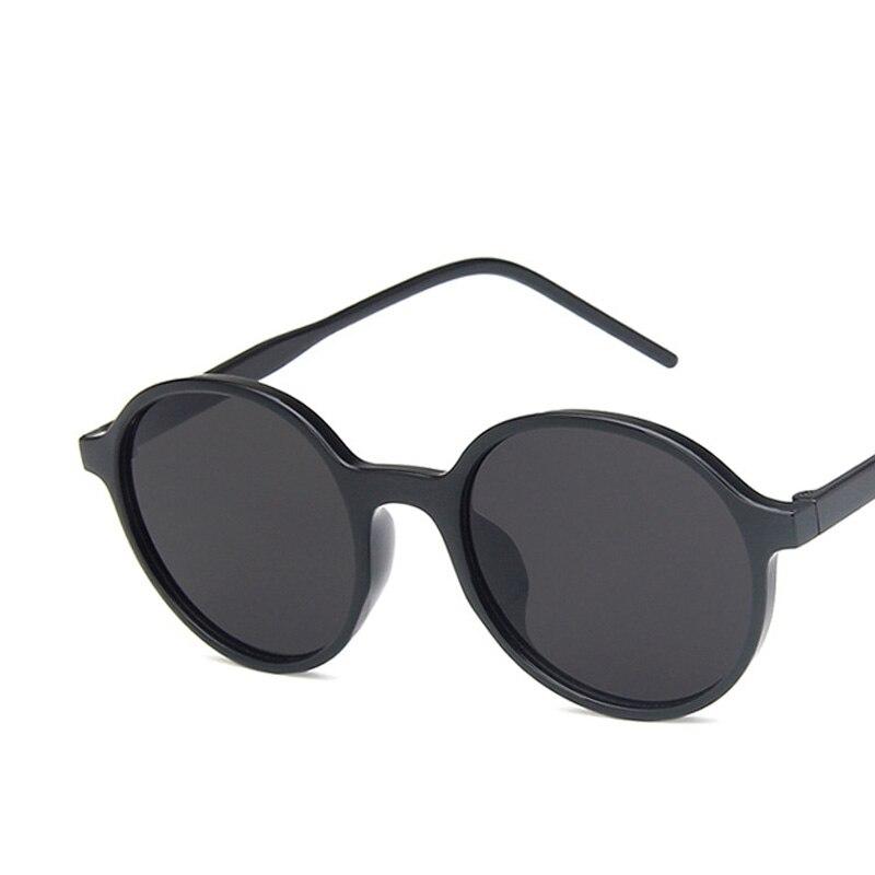 Солнцезащитные очки круглые для мужчин и женщин UV-400, Классические винтажные брендовые дизайнерские маленькие круглые очки