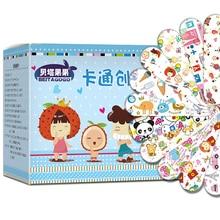 Bandages adhésifs en bande dessinée   120 pièces, Bandages adhésifs pour les plaies, plâtre pour les premiers soins, bande pour lhémostase, autocollants stériles pour enfants