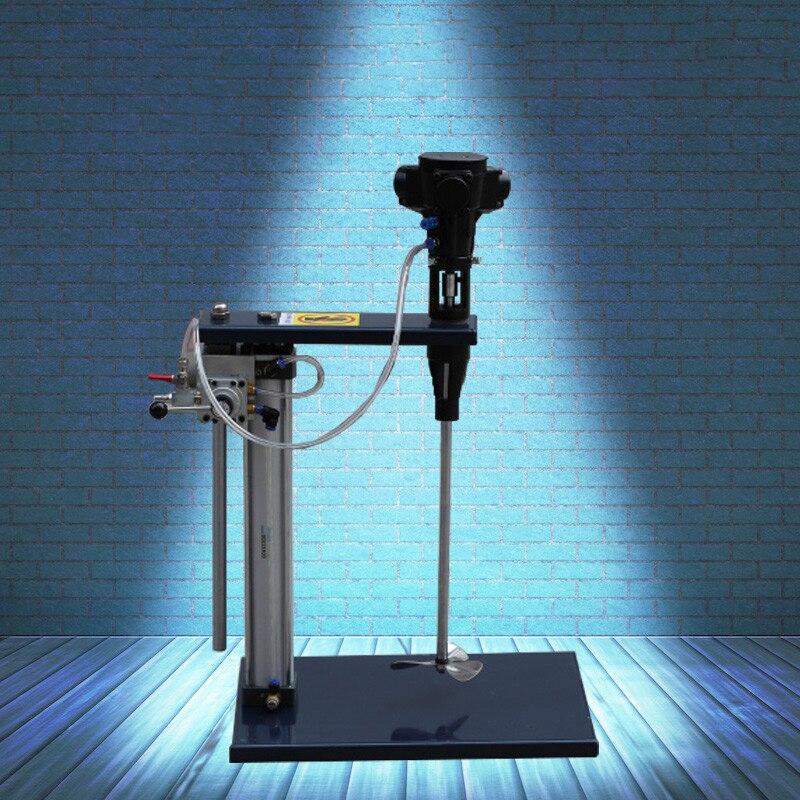Mezclador de Elevación neumática de escritorio mezclador de tinta de impresión de velocidad giratoria mezcla de recubrimiento de alimentación pintura de pegamento de cemento mezclador de pintura