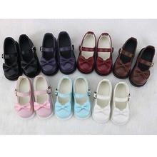 Chaussures en cuir, pour poupée SD, 2020 nouveauté 1/3 1/4 BJD, accessoires, livraison gratuite, 1/6