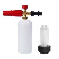 High Pressure Washer Snow Foam Lance For Karcher K Series 1L Soap Car Washer Foam Generator Foam Cannon Car Cleaning Tools