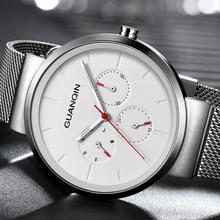 2020 Guanqin GS19103 Men's watch luxury brand fashion quartz watch men's sports watch men's relegio masculino