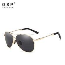 GXP Fashion Aluminum pilot Sunglasses Polarized Sun glasses Men And Women Mirror UV400 Lens Anti-gla