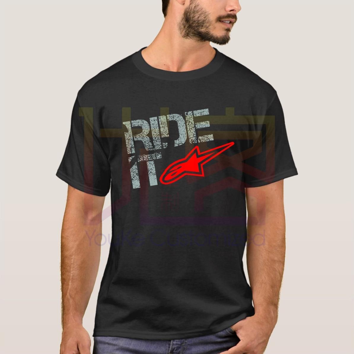 Alpine estrella montar extrema Atv suciedad Bikeer Quads T camisa Casual orgullo T camisa de los hombres Unisex nueva moda camiseta