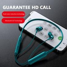 1pcs Magnetic Bluetooth-compatible Earphone Waterproof IPX5 Wireless Headphone Sport Headset Handsfr