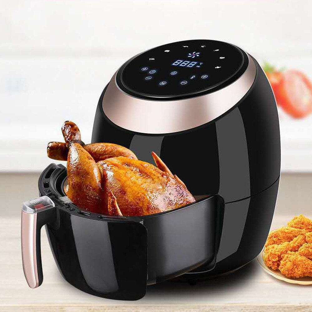 Large Capacity Air Fryer Household Electric Fryer Intelligent Oil-Free Multi-Function Fries Machine 8L