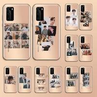 stray kids boy group kpop phone case transparent for huawei nove e 6 5 4 3 2 s i se pro lite
