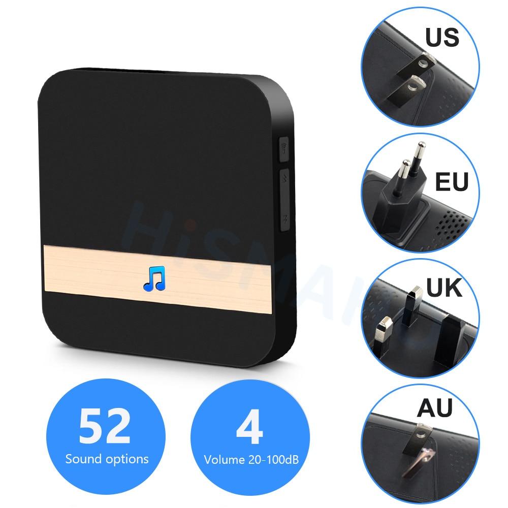 2021 Doorbell Smart Home Wireless Phone Door Bell Camera Security Video Intercom 720P HD IR Night Vision For Apartments enlarge