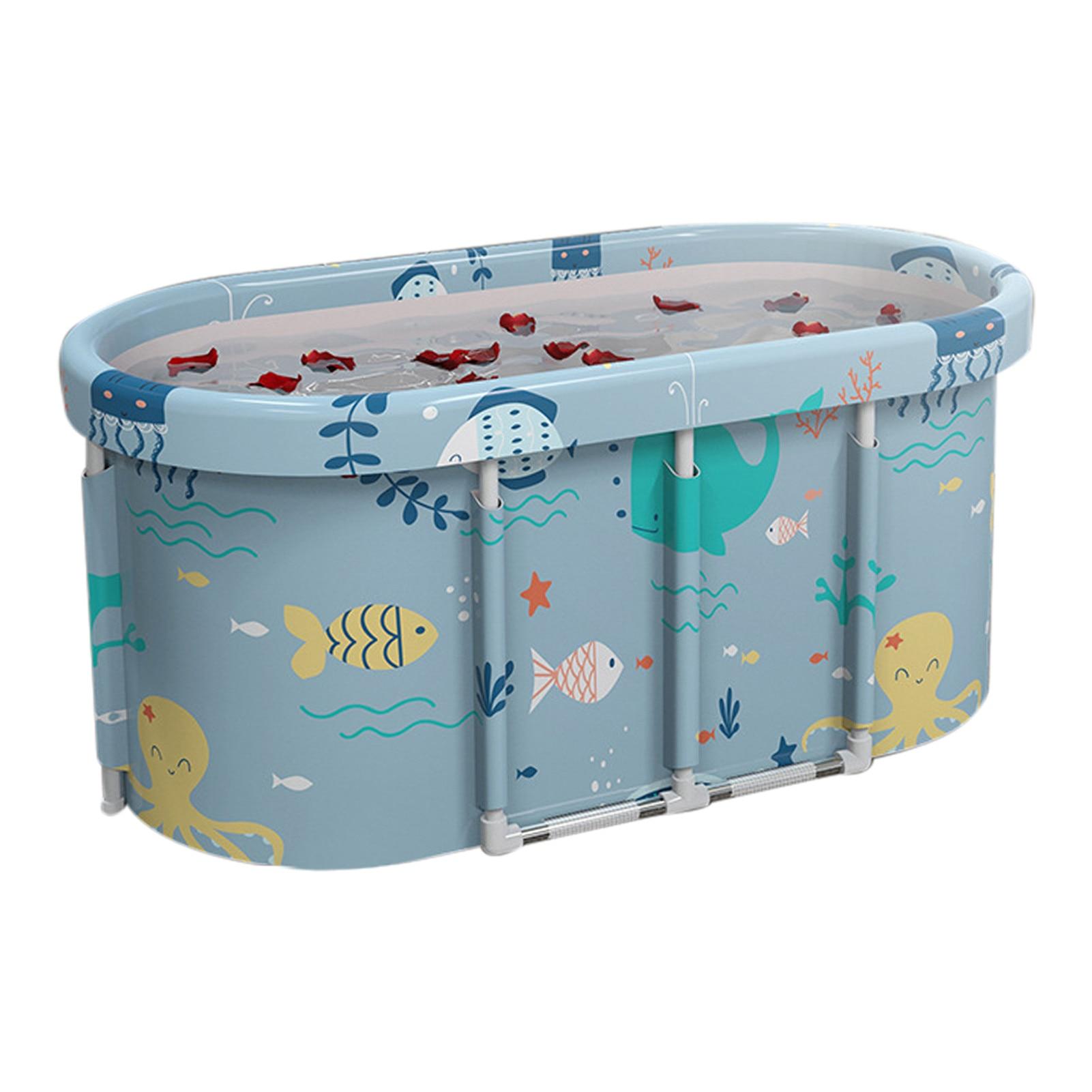115 x60 x 51cm banheira dobrável banheira de banho adulto piscina universal spa banheira dobra não há necessidade de desmontar banheira de corpo inteiro grande