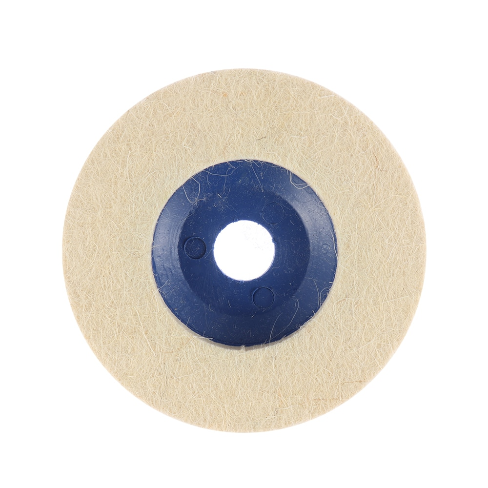 1pc 4 pollici 100mm tamponi per lucidatura in lana per lucidatura a - Utensili abrasivi - Fotografia 4