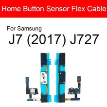 Home Button Flex Cable For Samsung Galaxy J7 (2017) J727 Menu Key Return Audio Jack Port Flex Ribbon
