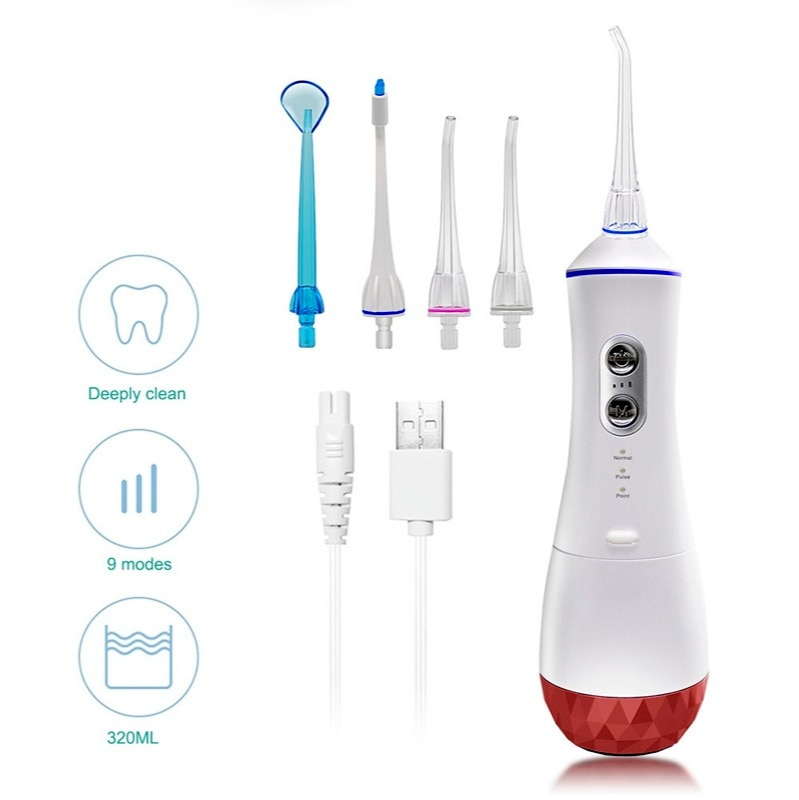 Portable dental washer new oral  Irrigator  care  customized processing of dental floss enlarge