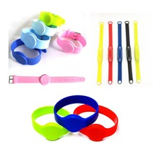colorful multifarious 125khz Silicone Bracelets wristband TK4100 Rfid Wristband Access Control IC Card Wrist band Bracelet Tag
