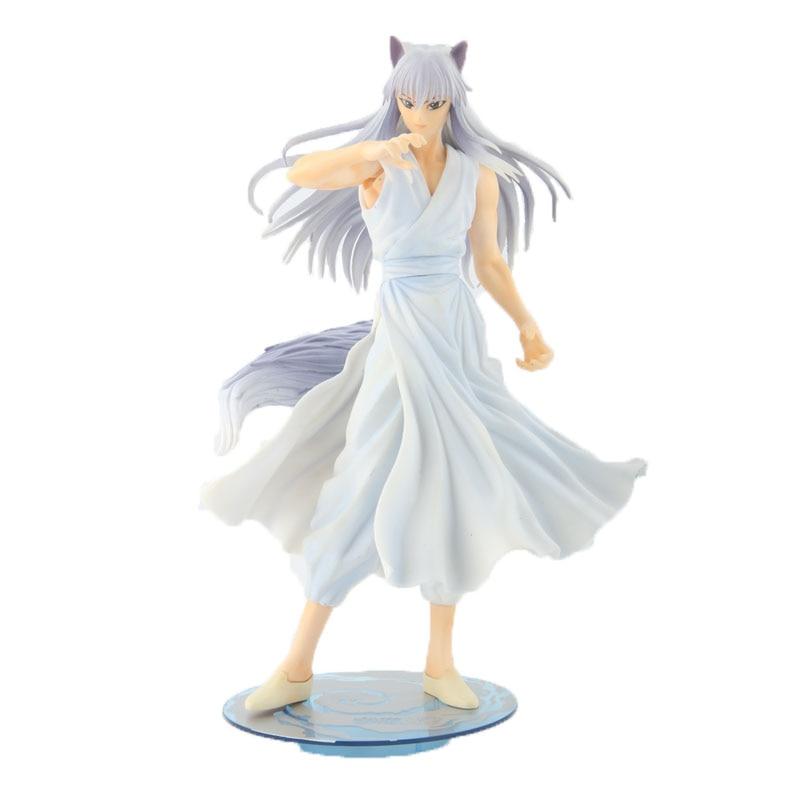 "YuYu Hakusho demonio zorro Kurama 1/8 figuras ARTFX-J 1/8 colección de juguetes 9 ""23cm"