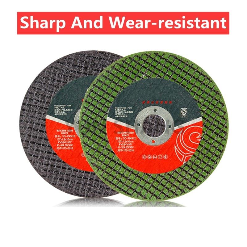 10PCS Angle Grinder Cutting Disc Grinding Wheel Polishing Sheet Cutting Metal Stainless Steel Saw Blade