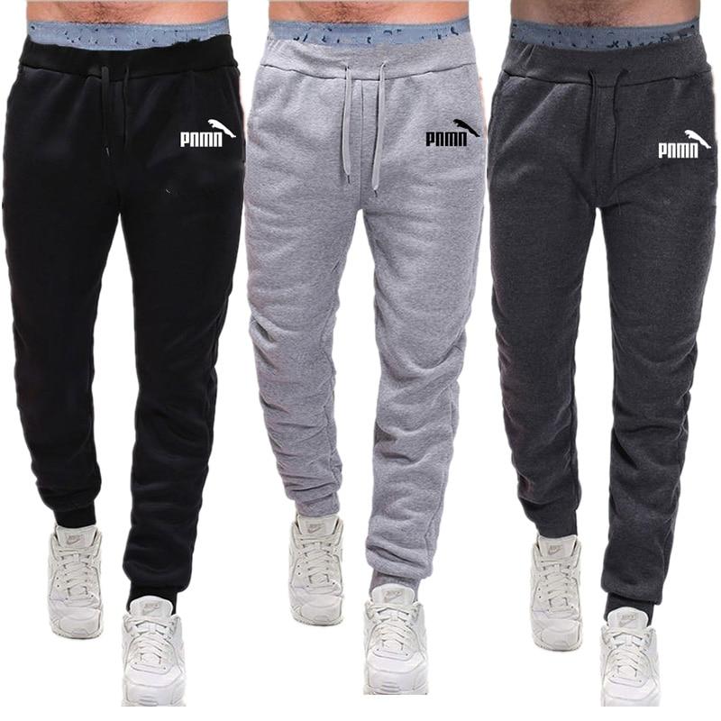 Calças de jogging homme esporte calças dos homens de fitness correndo calças esportivas ginásio treinamento leggings magros dos corredores sweatpants