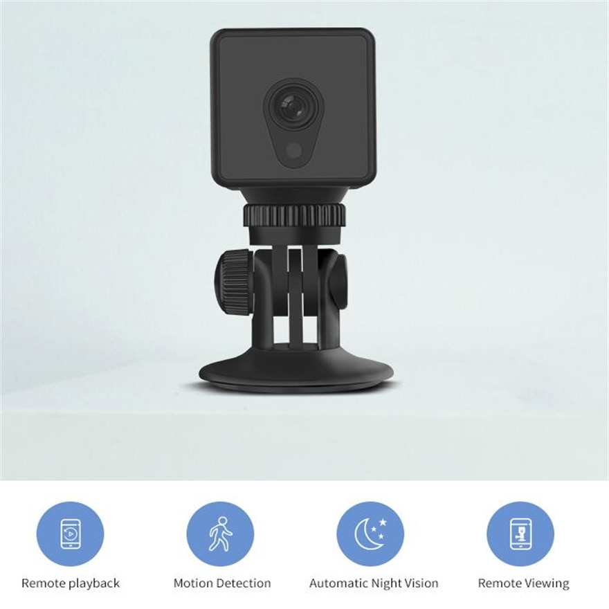 Wifi Camera Webcam 1080P Night Vision  Mini Video Micro Home Security With Magnet 140 Wide Angle  Alarm Push Remote Watching enlarge