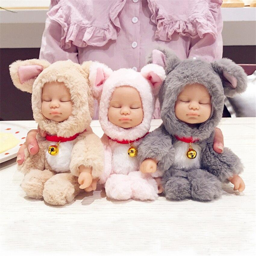 Funda de teléfono de felpa para Iphone 11 11Pro Max Cute Dolls funda para Iphone Xs MAX XR 8 plus americano regalo de Navidad para niñas