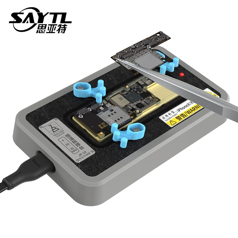 Estação para o Iphone Qianli Mega-idéia Chips Desoldering x xs Max Motherboard Rápido Aquecimento Separador Glue Remover Dispositivo Elétrico Cpu ic
