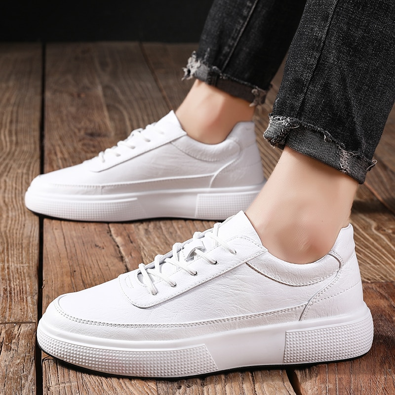 Summer Men Canvas Shoes outdoor Breathable Casual Shoes Men fashion White Black Lace -Up Mens Shoes Zapatos Hombre Espadrilles