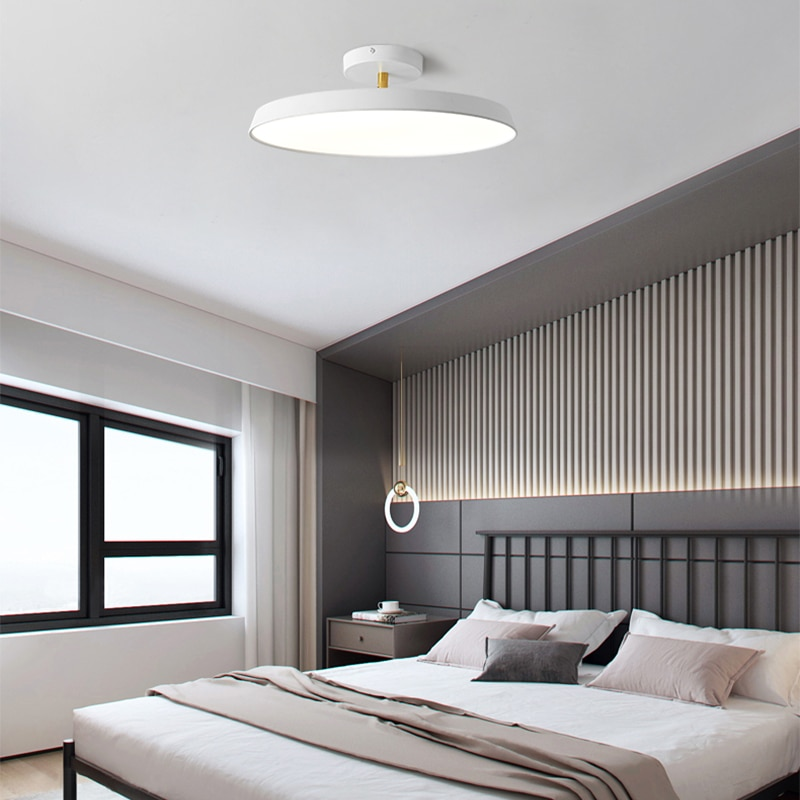 Modern Ceiling Light Alumniare Denmark Ceiling Lamp Round LED Light Fixture mounted Lighting Luminiare Nordic Lamp home lighting macarons ceiling lamps rose colors metal lamp body acrylic lamp shade colorful post modern ceiling light led lighting fixture