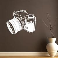 Autocollant mural retro pour appareil photo  pour studio photo  pour passionnes de video  maison  chambre  porte  decoration murale  DW6412
