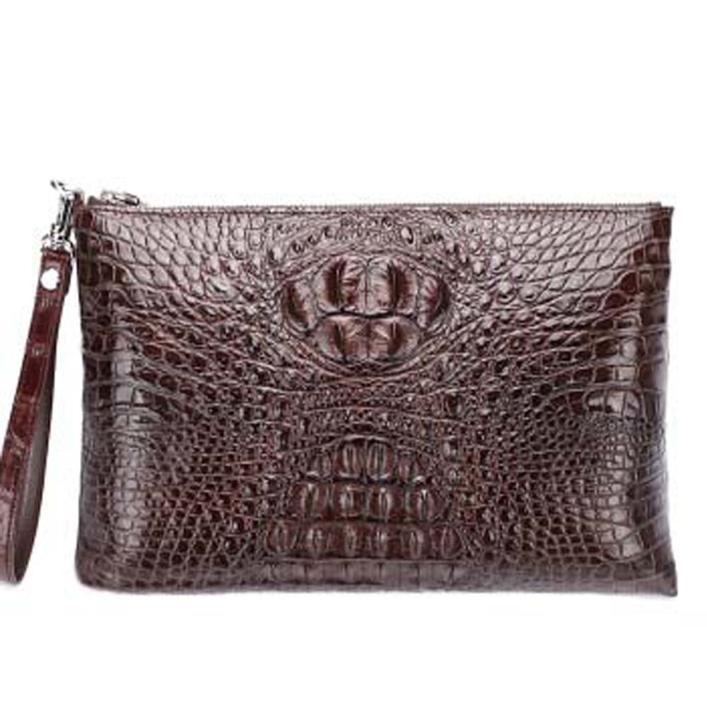 dulilu new crocodile  Hand bag  male clutch bag crocodile  handbags  crocodile  Hand caught  bag crocodile  handbags  men bag
