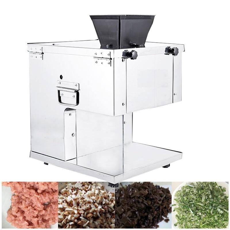 Cortadora automática pequeña de acero inoxidable comercial para carne de cerdo