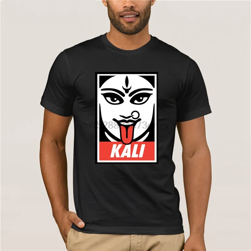 Goddess Kali Tshirt Sex Pin Up Poster Men T Shirt Hipster 2019 New Arrival Men