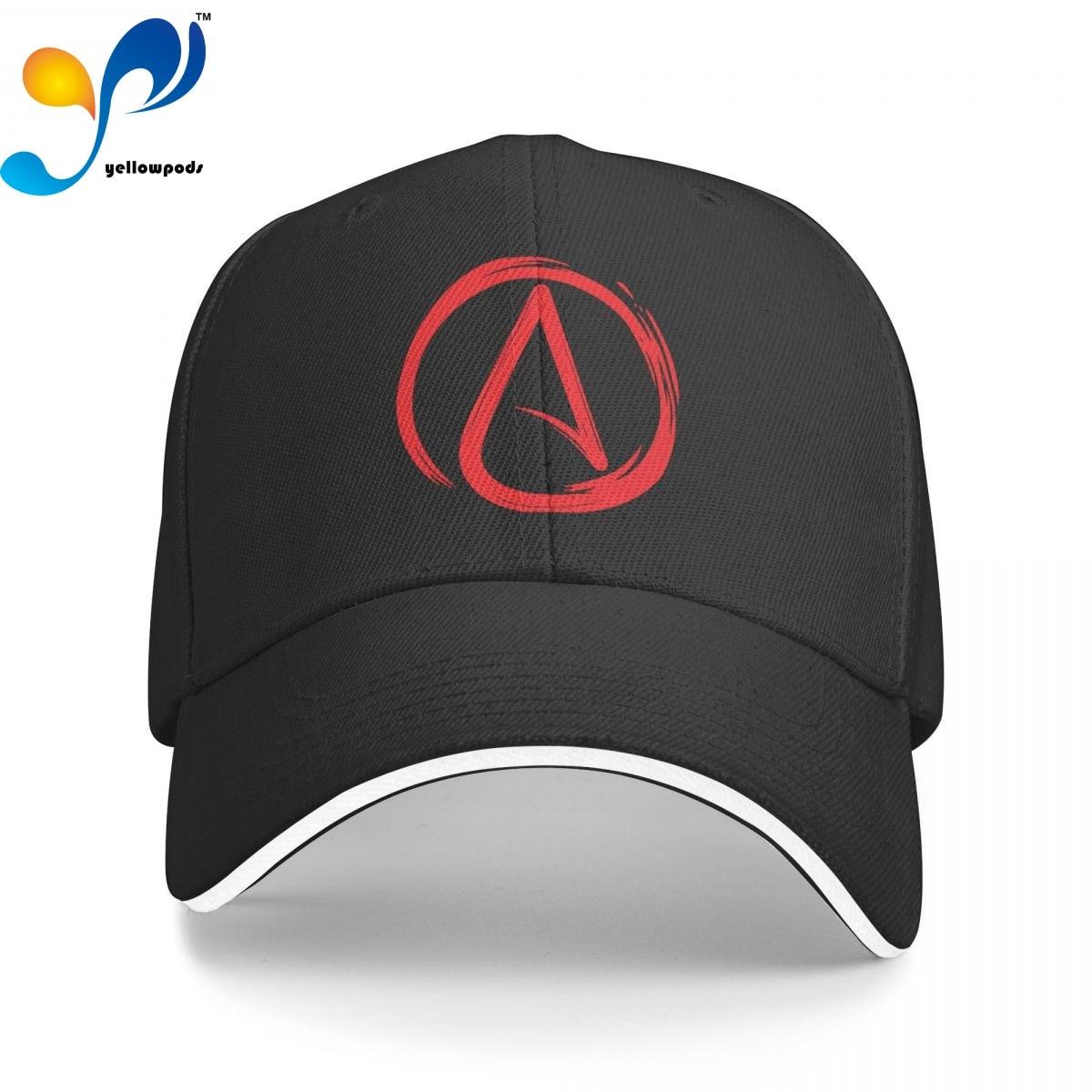 Бейсболка Мужская, модная кепка атеиста, головные уборы с логотипом, Мужская кепка для папы, Кепка для мужчин, Кепка-тракер