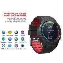 SMA-M1 GPS montre intelligente Bluetooth appel multi-sport Mode podomètre extérieur Bracelet intelligent appel et Msg rappel santé Fitness Tracker