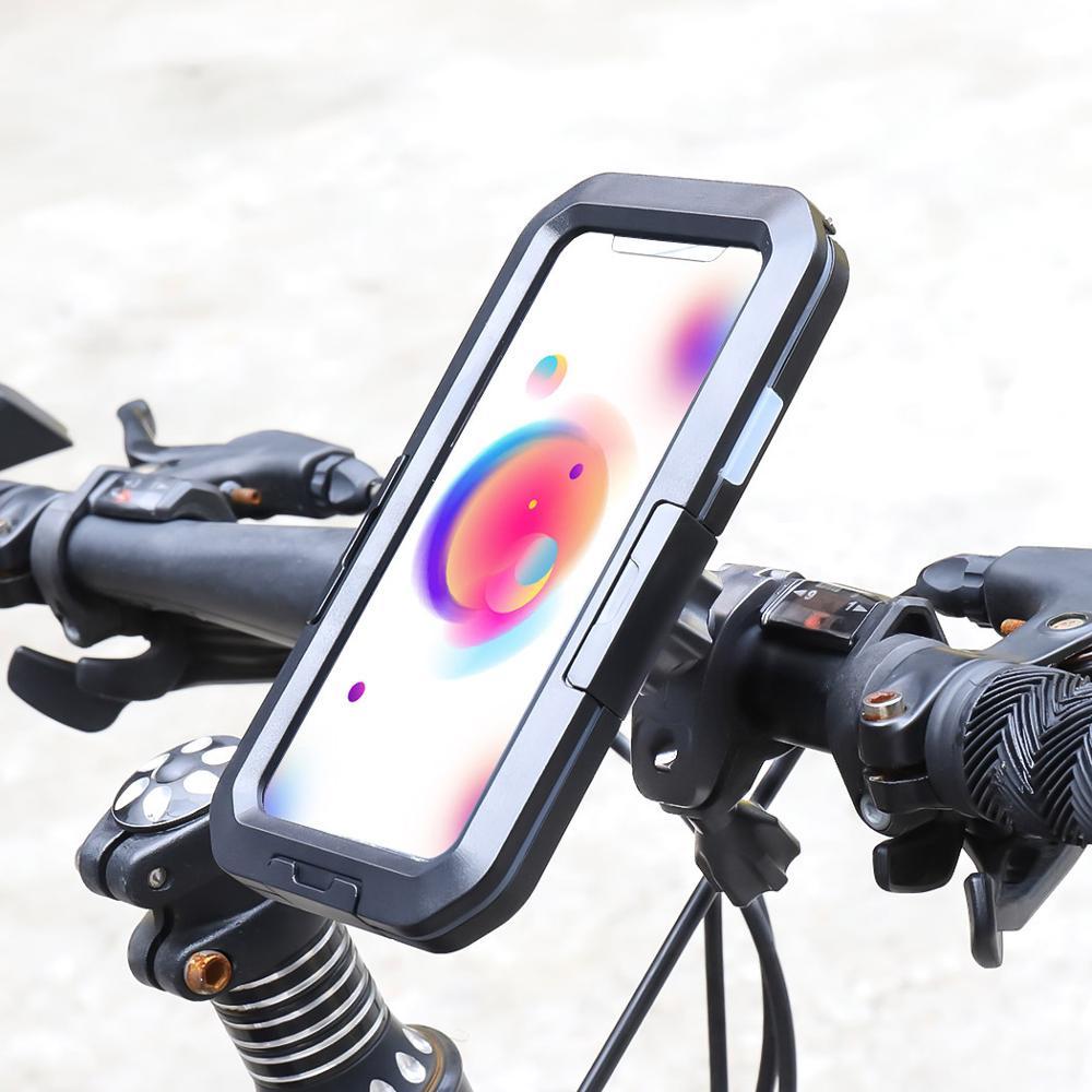 Funda impermeable de buceo para iPhone 11 Pro Max X XS Max XR 7 8 6 6S Plus 5 SE, funda protectora para bicicleta deportiva