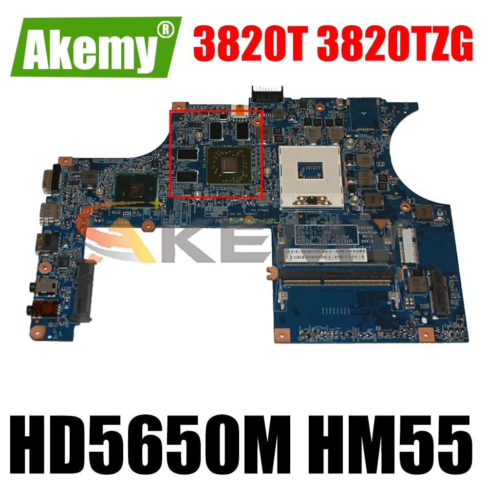 MBREM01002 MB. Rm01.002 اللوحة الأم لأجهزة الكمبيوتر المحمول أيسر asipre 3820T 3820TZG JM31-CP MB 48.4HL01.03M HD5650M HM55 DDR3 اللوحة الرئيسية