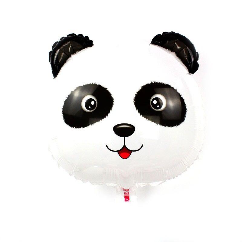 Алюминиевый фольгированный шарик в виде героя мультфильма лисы «панда», «Тигр», с изображением Льва, детская одежда, праздничное платье-пач...