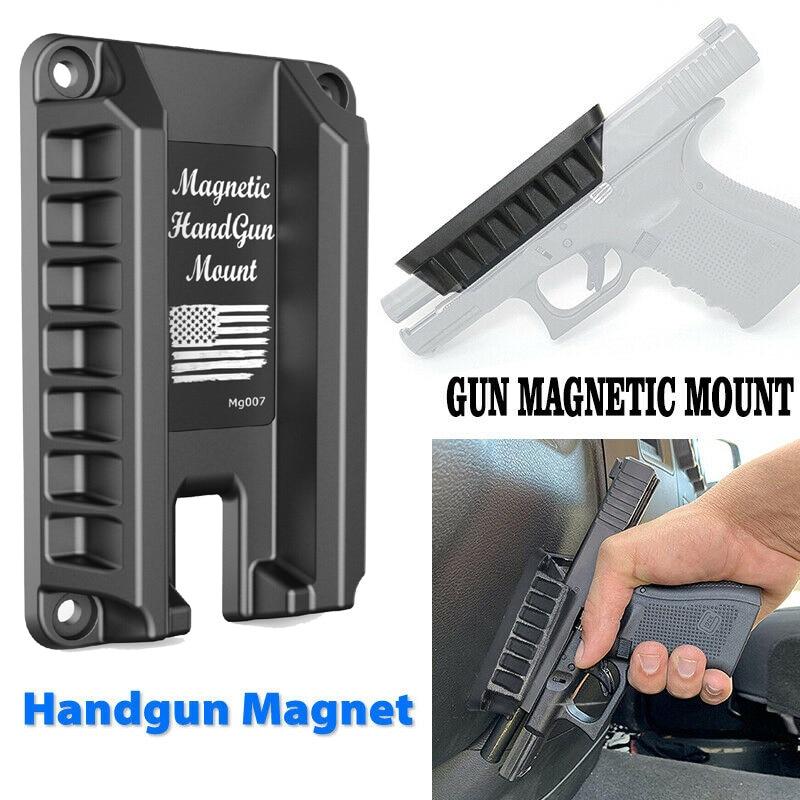 Support de pistolet à montage magnétique pour famille/marché/voiture/défense convient à la série Glock Springfield S & W M & P Ruger Taurus HK Kahr Sig