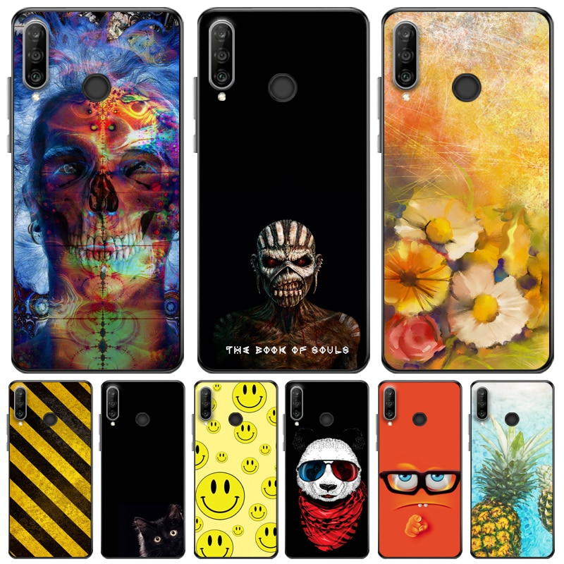 For Huawei P30 Pro Phone Case For Huawei P30 Silicon Soft Tpu Back For Huawei P30 Lite P30pro TPU Black Soft Coque Soft Cover