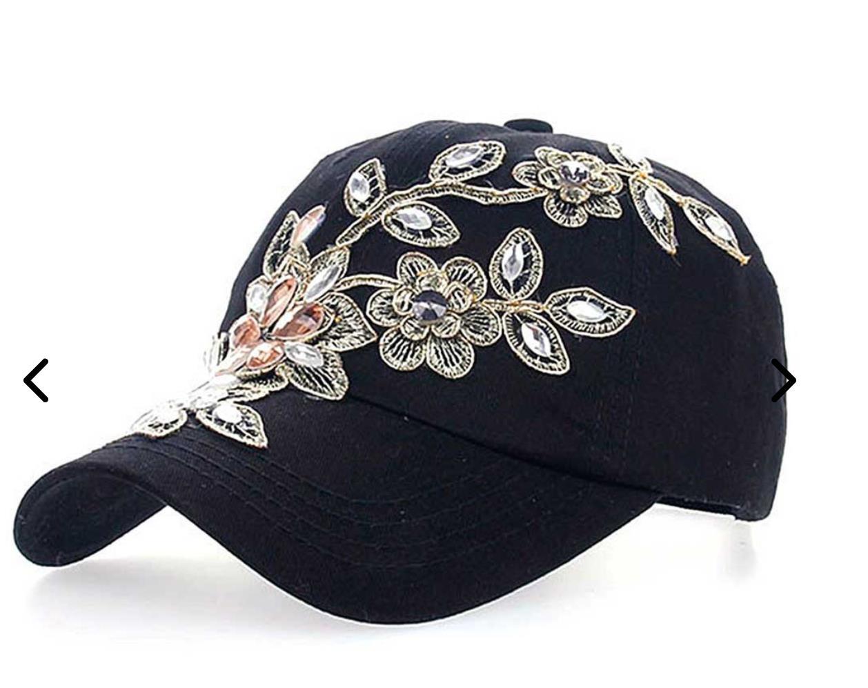 women Floral cap