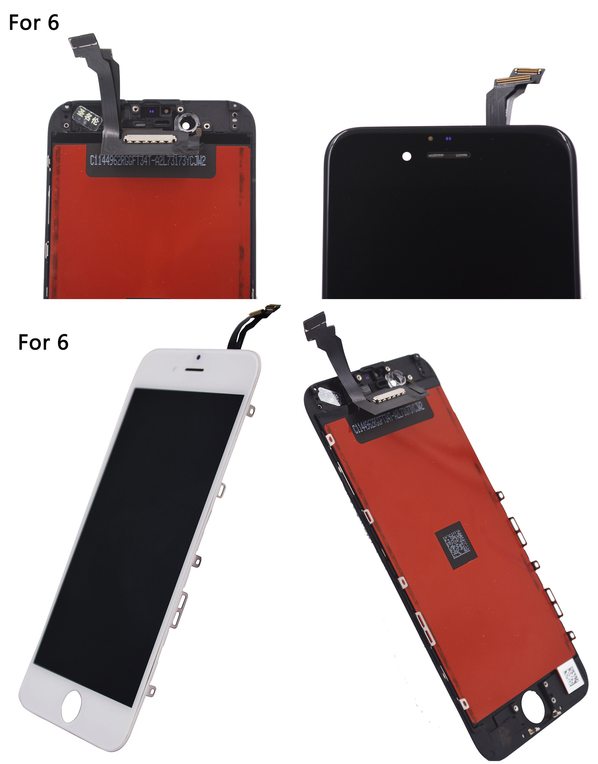 new Replacement For Iphone 6 lcd Display for iphone 6s LCD Screen Display Touch Digitizer Assembly for iphone 7 lcd enlarge