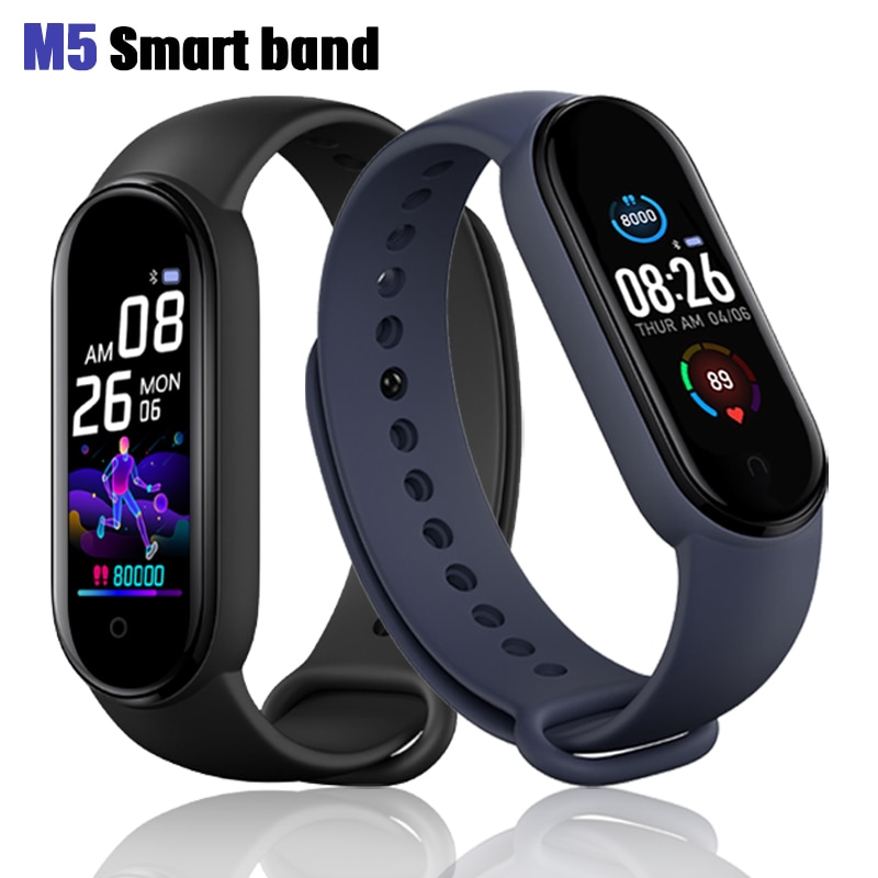 New M5 Smart Band Fitness Tracker Smart Watch Sport Smart Bracelet Heart Rate Blood Pressure Smartband Monitor Health Wristband