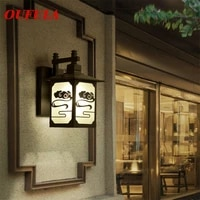 hongcui outdoor wall lamps%c2%a0sconce light fixture waterproof modern contemporary %c2%a0creative for home balcony%c2%a0courtyard corridor