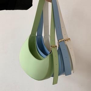 с доставкой Irregular Square Design Small new PU Leather Crossbody Bags for Women 2021 Summer Branded Shoulder luxury Handbags