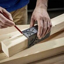 ไม้ไม้บรรทัด3D Mitre มุมวัดวัดขนาดเครื่องมือวัด