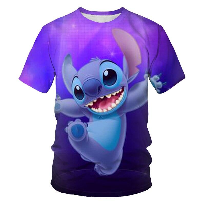 Camiseta con estampado 3D llamativo para hombres y mujeres de ropa de...