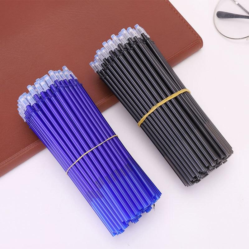 20PCS Erasable Pen Refill 0.35mm Blue/Black Ink Magic Erasable Pen Refill Students Writing Pen Gift Stationery for Students