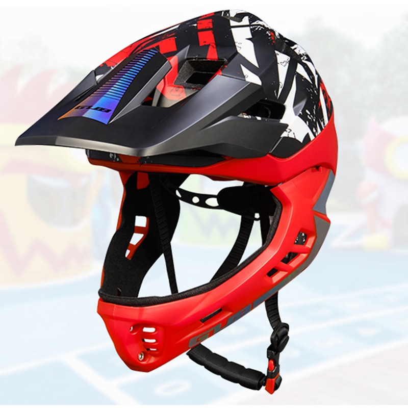 LazyChild Kids Trainer Bike Helmet Fullface All-terrain MTB Cycling downhi Children Bicycle Sports Safety OFF-ROAD Mountain enlarge