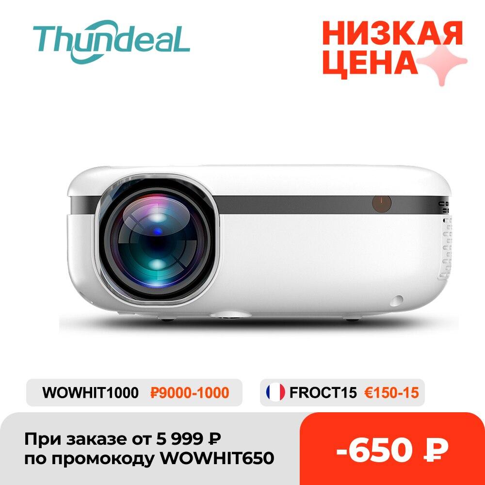 Thundal TD92 5G واي فاي جهاز عرض صغير ل 1080P فيديو متعاطي المخدرات هاتف ذكي النسخ المتطابق Airplay المحمولة المسرح المنزلي 720P أجهزة العرض